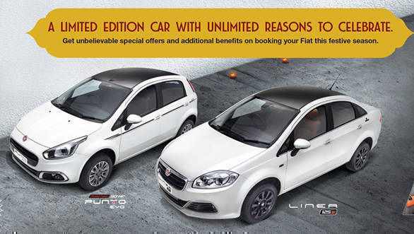 Fiat India announce new festive edition Punto and Linea