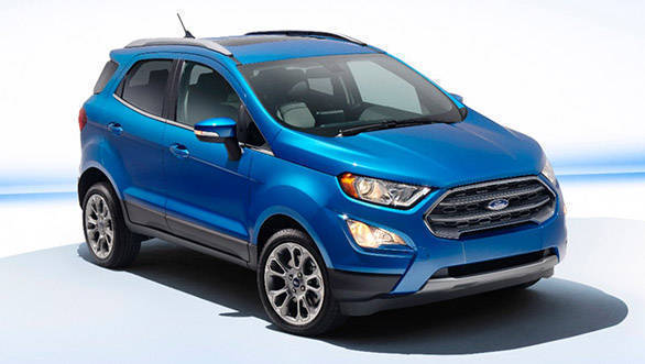 Ford to launch 2018 EcoSport in India on November 9, 2017