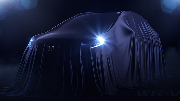 India-bound Honda WR-V compact SUV teased