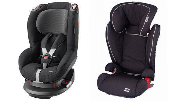 ISO FIX Child Seats (2) new