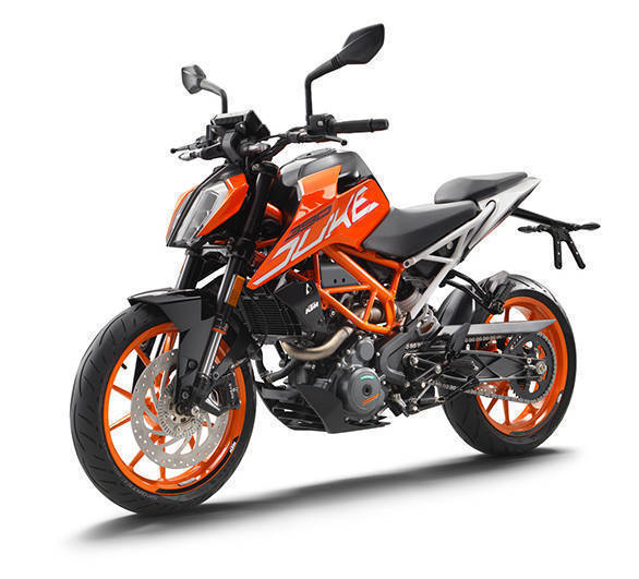 Image gallery: 2017 KTM 390 Duke