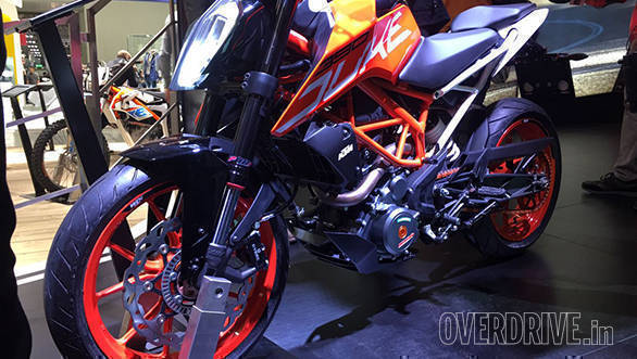 EICMA 2016: New KTM 390 Duke is quicker and refined
