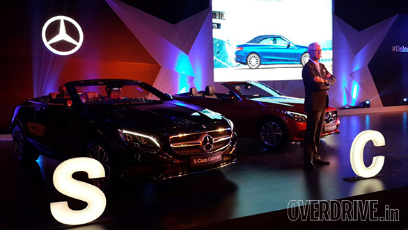 Mercedes-Benz launches S-Class and C-Class Cabriolets in India
