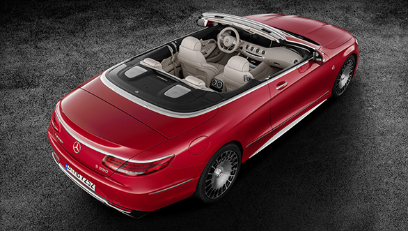Mercedes-Maybach S 650 Cabriolet  Studioaufnahme Exterior, offenes Verdeck; Kraftstoffverbrauch kombiniert: 12,0 l/100 km; CO2-Emissionen kombiniert: 272 g/km // Mercedes-Maybach S 650 Cabriolet studio shot, open soft top; Fuel consumption combined: 12,0 l/100 km; Combined CO2 emissions: 272 g/km