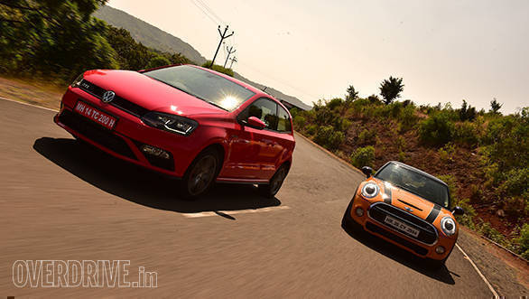 Comparo: 2016 Volkswagen Polo GTI vs Mini Cooper S