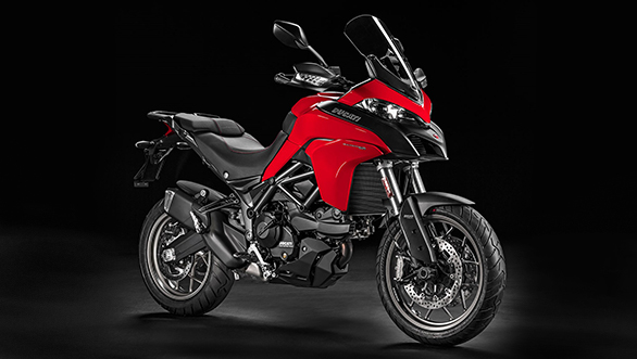 The Multistrada 950 shares most of the body work with its elder sibling, the Multistrada 1200 S,