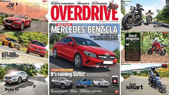 December 2016 issue of OVERDRIVE on stands now