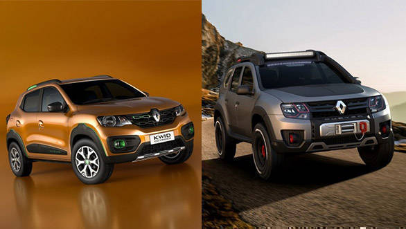 2016 Sao Paulo Motor Show: Renault Duster Extreme and Kwid Outsider concepts showcased