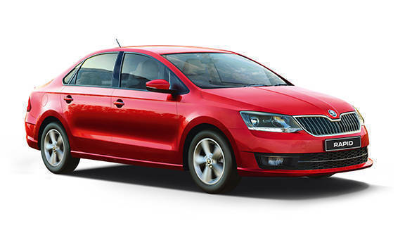 The silhouette is familiar, however, the Rapid looks more like the Octavia now