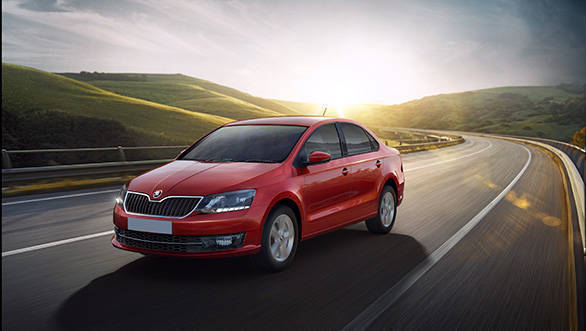 Image gallery: 2016 Skoda Rapid facelift