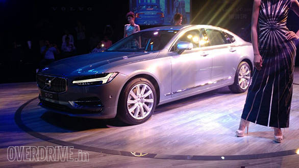 2016 Volvo S90 launched in India at Rs 53.5 lakh