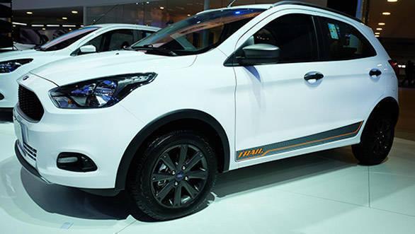 2016 Sao Paulo Motor Show: 2017 Ford Ka Trail unveiled