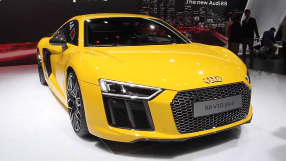 2016 Auto Expo 2016 Audi R8 V10 Plus launched at Rs 2.47 crore - Video