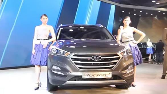 2016 Auto Expo Hyundai Tucson