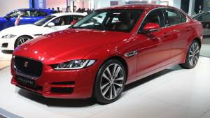 2016 Auto Expo Jaguar XE & F-Pace - Video