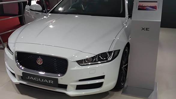 2016 Auto Expo Jaguar XE launched - Video