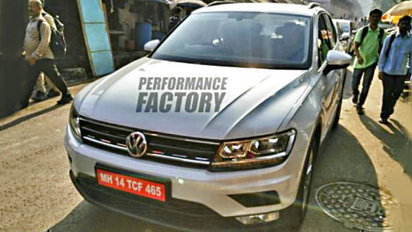 Spied: New Volkswagen Tiguan caught testing in India
