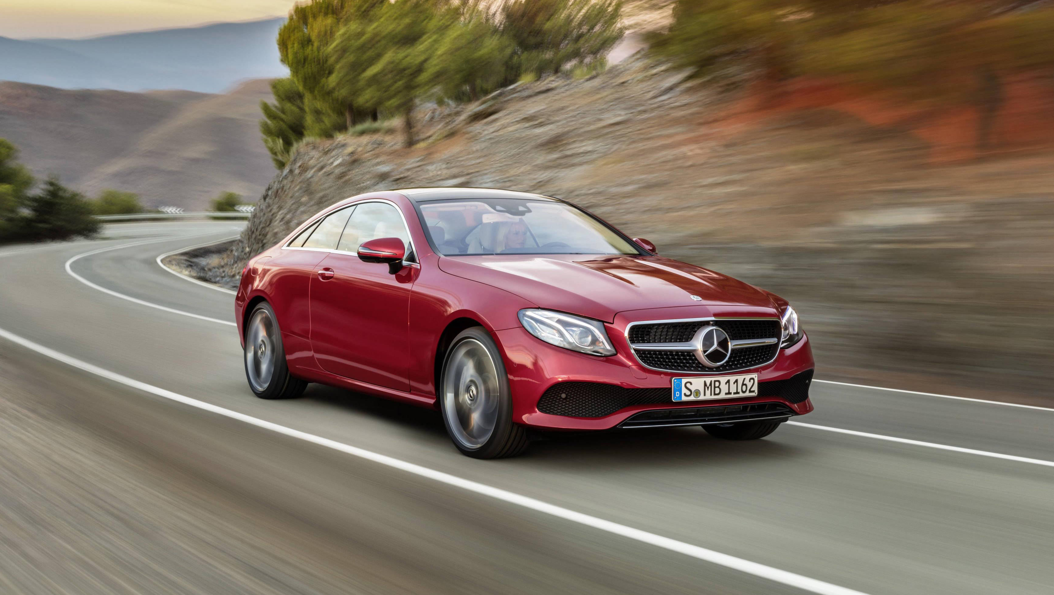 2017 Mercedes Benz E Class Coupe revealed Overdrive