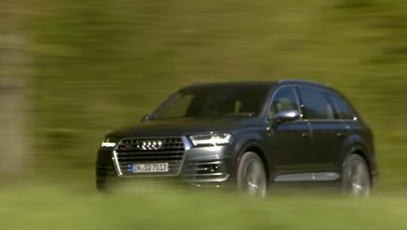 Audi SQ7 TDI - First Drive Review - Video