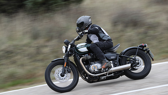Triumph Bonneville Bobber first ride review