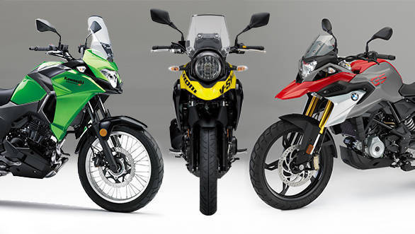 Spec comparo: BMW G 310 GS vs Kawasaki Versys-X 300 vs Suzuki V-Strom 250
