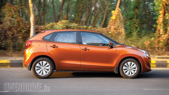 Baleno CVT vs Jazz CVT (9)