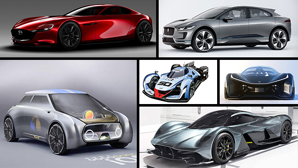 Cool concept cars that were showcased in 2016