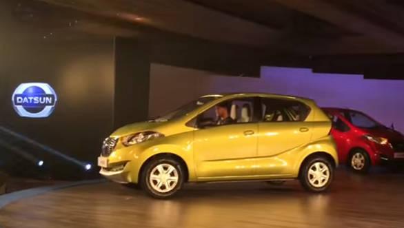 Datsun redi-GO Quick Look - Video