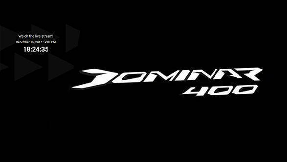 Live webcast: Launch of the all new Bajaj Dominar 400