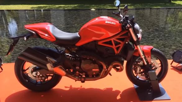 Ducati Monster 821 Walkaround Video Overdrive