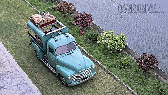 Hunter's truck