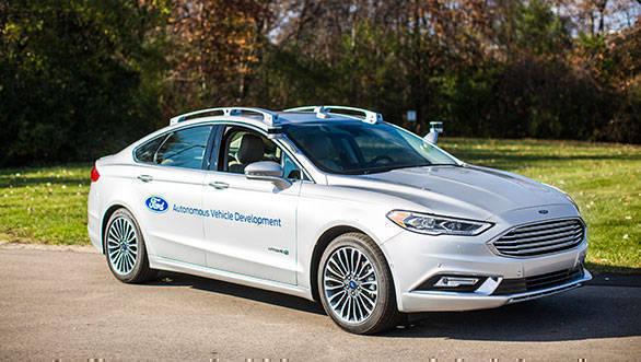 Ford to debut next-gen Fusion hybrid autonomous development vehicle