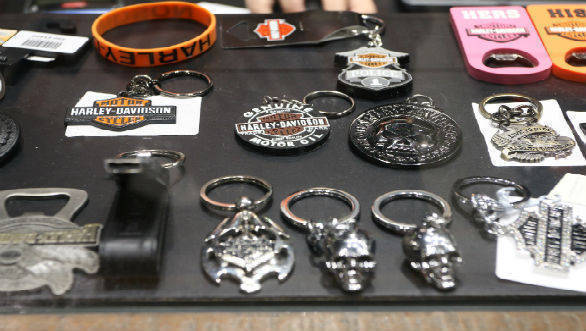 Harley-Davidson merchandise showroom 2