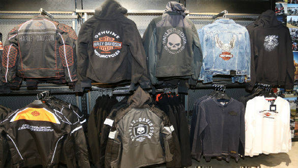 Harley-Davidson merchandise showroom 3