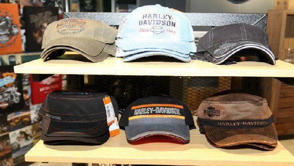 Harley-Davidson merchandise showroom 4
