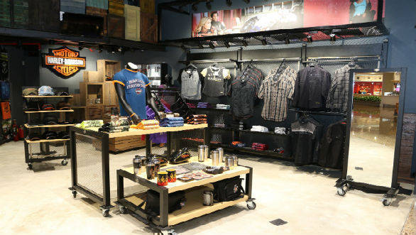 Harley-Davidson merchandise showroom 5