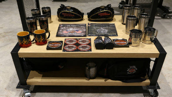 Harley-Davidson merchandise showroom 6