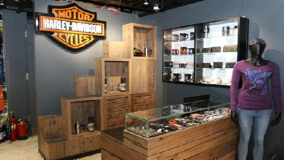 Harley-Davidson merchandise showroom 7