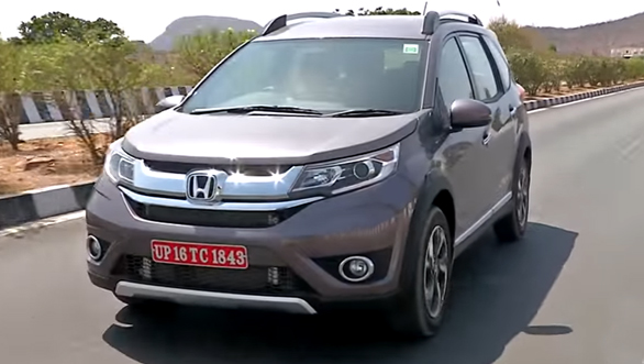 Honda BR-V - First Drive Review (India) - Video