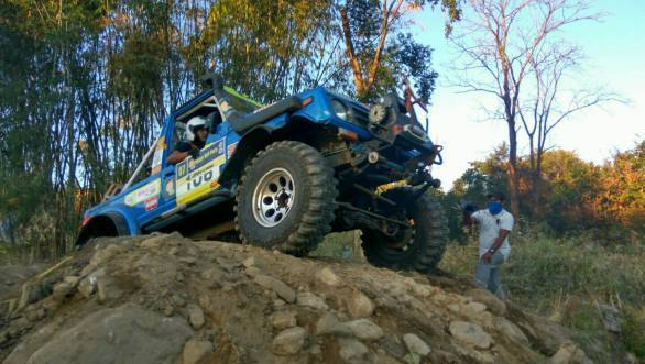 JK Tyre 4x4 Fury Orange Festival 2016 Day 1