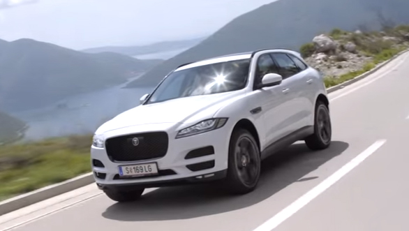 Jaguar F-Pace - First Drive Review (Montenegro) - Video