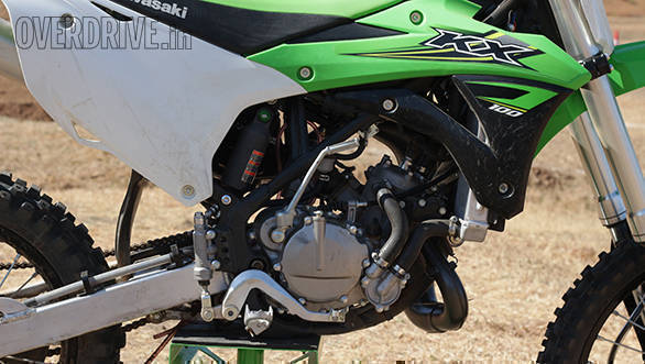 Kawasaki KX100 (1)