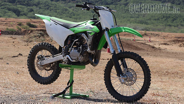 2017 Kawasaki KX100 first ride review