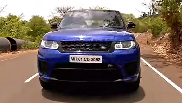 Land Rover Range Rover Sport SVR - Road Test Review - Video