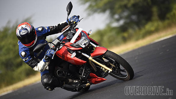 CNBC-TV18 OVERDRIVE Awards 2017: TVS Apache RTR200 4V is Motorcycle Of The Year