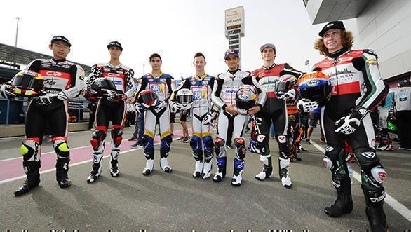 Suzuki, Spiranelli, Petrarca, Valtulini, Martin, Hanika, Darryn Binder, Qatar Moto3 2016