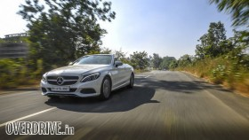 Mercedes-Benz C300 Cabriolet road test review