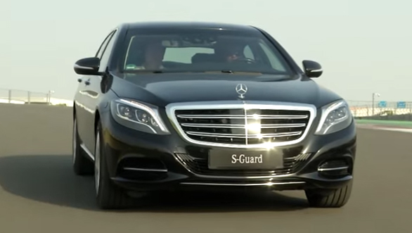 Mercedes S600 Guard review by OVERDRIVE - Video