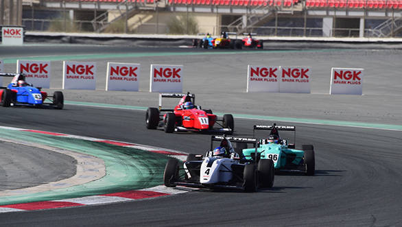 MRF Challenge 2016 Round 2: Joey Mawson leads championship after race win at Dubai Autodrome