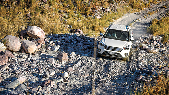 The Creta is another car that was comfortable on all terrains